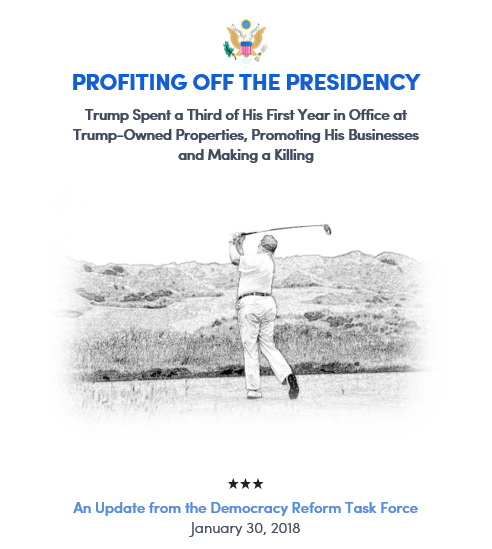 Profiting Off the Presidency Report Cover